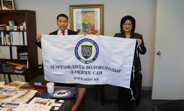 АНУ-ын University of North America сургуультай хамтын ажиллагааг эхлүүллээ